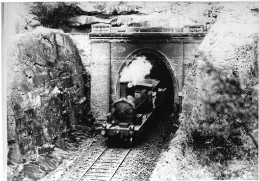 Glenbrook Tunnel sth portal c1900