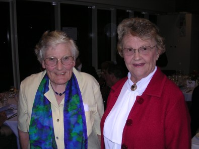 Sue Sewter & Pat Curry - Wall of Achievement Dinner